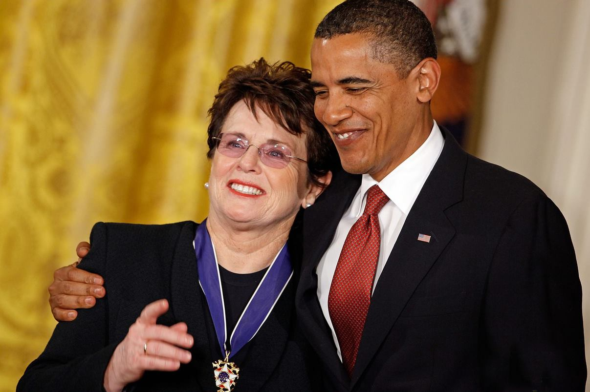 Billie Jean King à Sotchi : «Nous sommes le reflet d'une partie de l'Amérique»