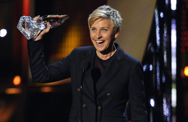 Ellen DeGeneres, reine des People's Choice Awards