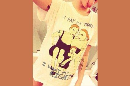 Miley Cyrus affiche son soutien à l'égalité des droits