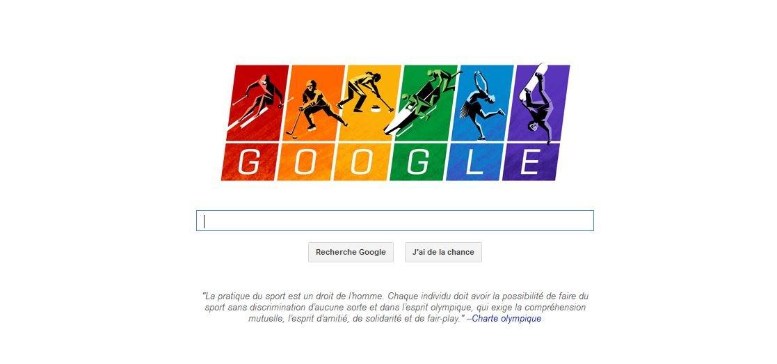 Google lance les JO de Sotchi aux couleurs LGBT