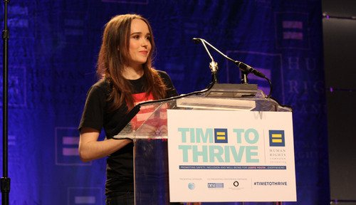 L'actrice Ellen Page a fait son coming out