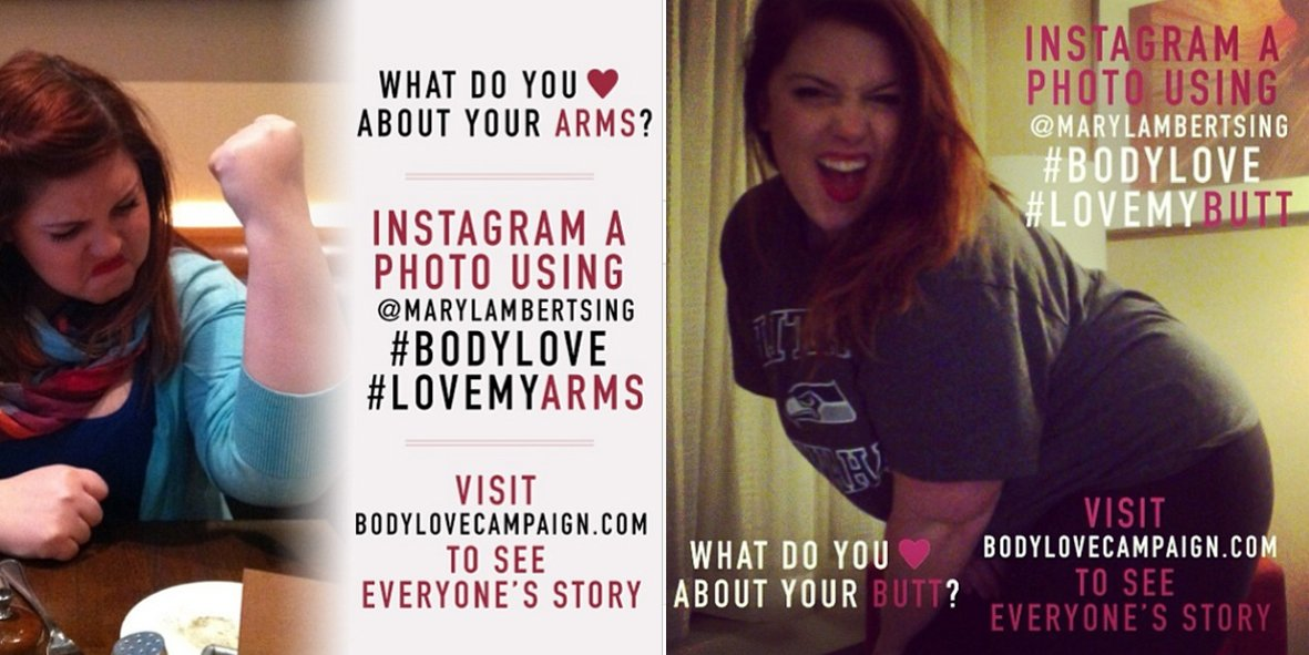 Mary Lambert lance The Body Love Campaign