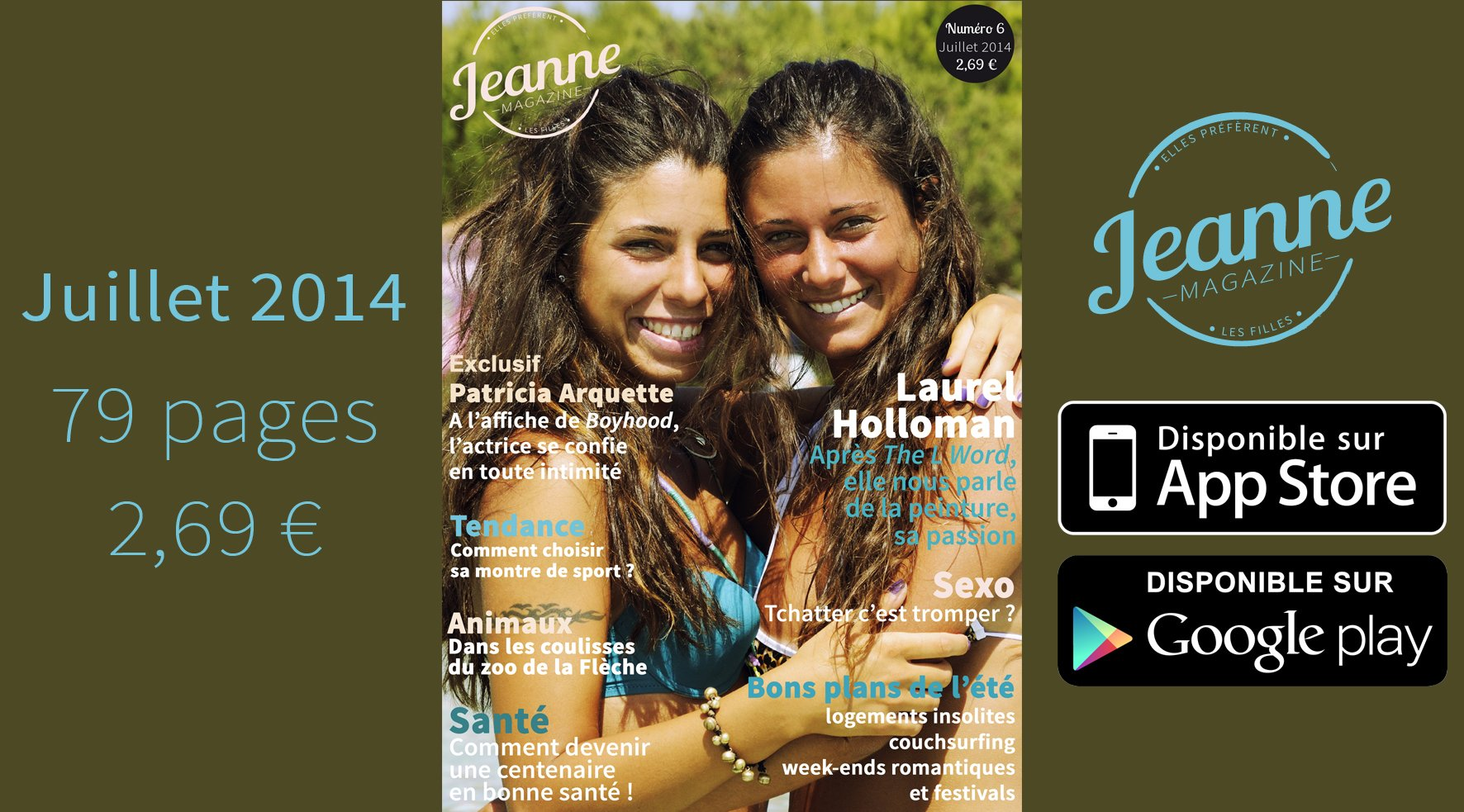 Jeanne Magazine n°6 – juillet 2014