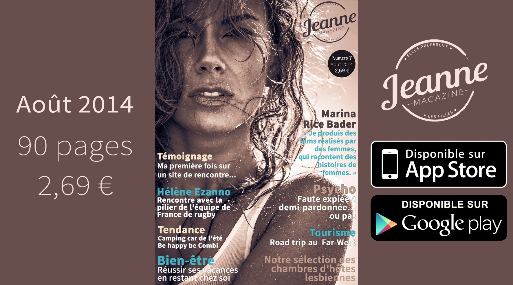 Jeanne Magazine n°7 – août 2014