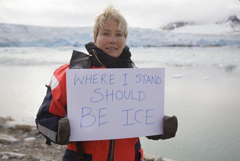 Emma Thompson au secours de l'Arctique