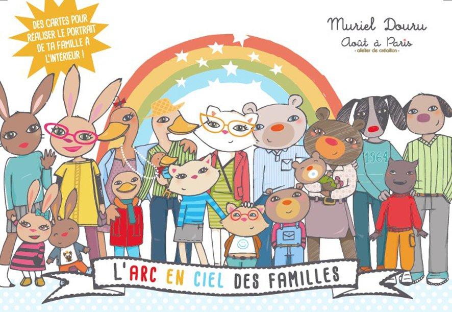 Rencontre avec Muriel Douru pour L'Arc en ciel des familles