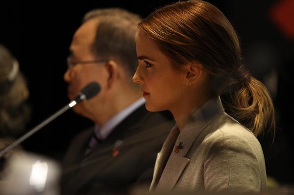 Emma Watson : «Comment peut-on changer efficacement le monde si seule la moitié de celui-ci est invité à participer à la conversation ?»