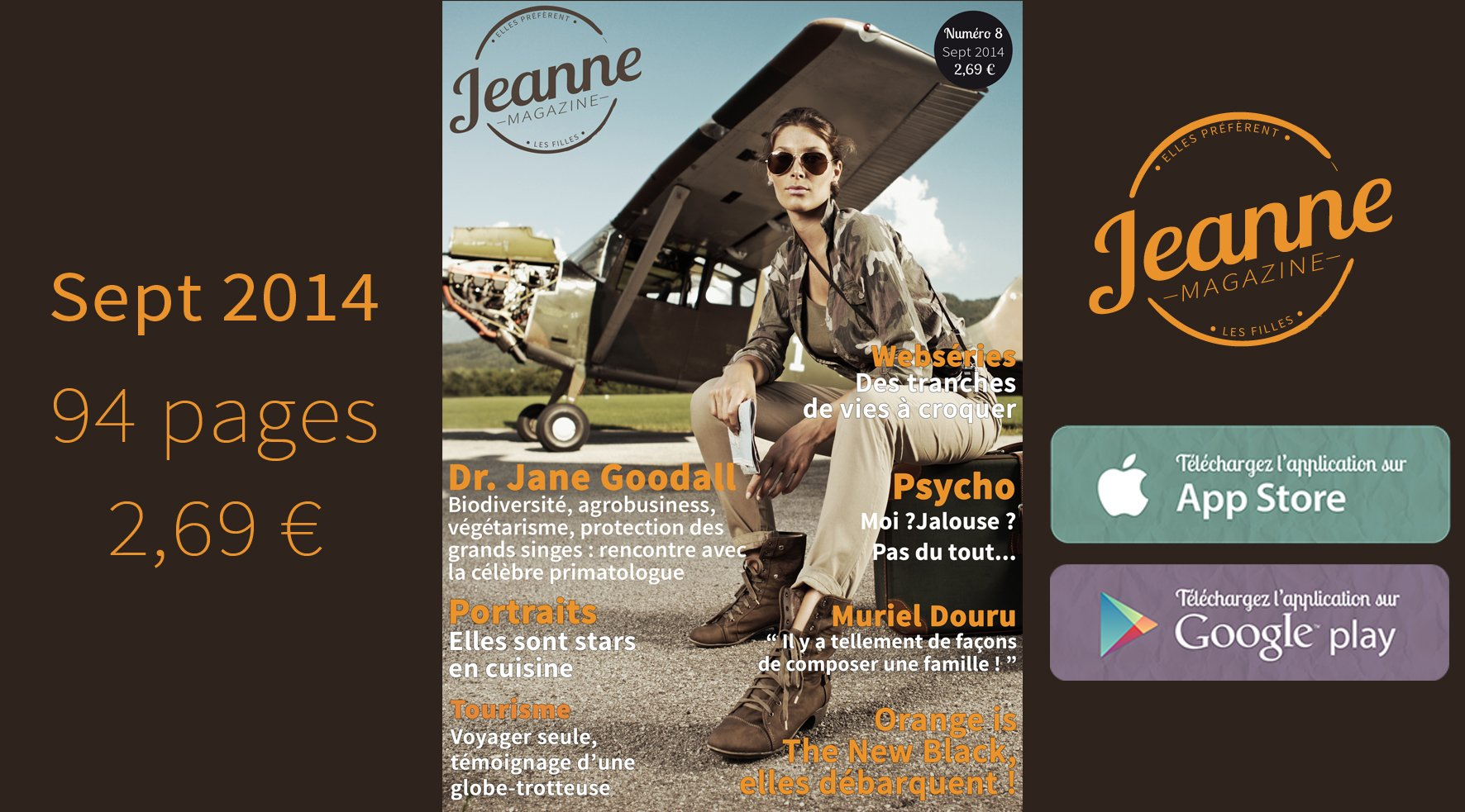 Jeanne Magazine n°8 – septembre 2014