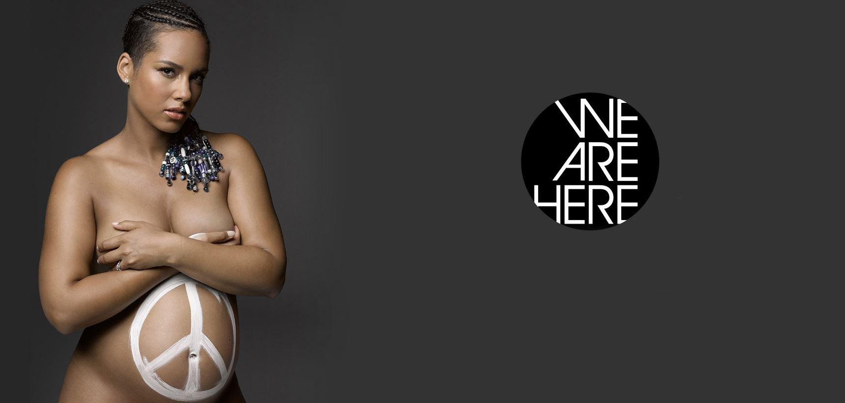 Alicia Keys nue pour la bonne cause !
