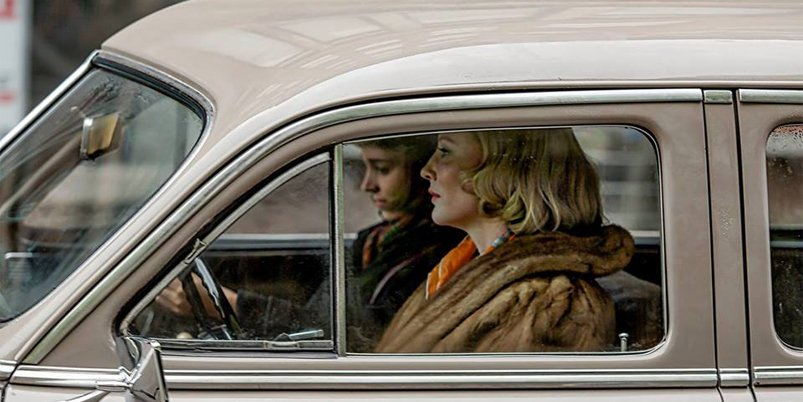 Cate Blanchett et Rooney Mara réunies dans le film lesbien Carol