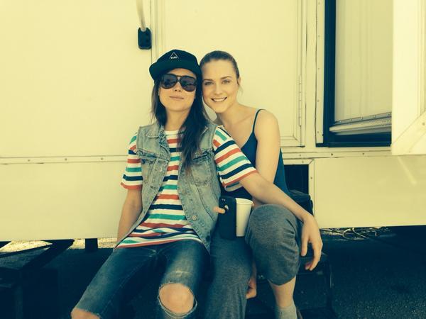 Evan Rachel Wood à propos d'Ellen Page : «Elle est aujourd'hui l'une de mes amies les plus proches.»