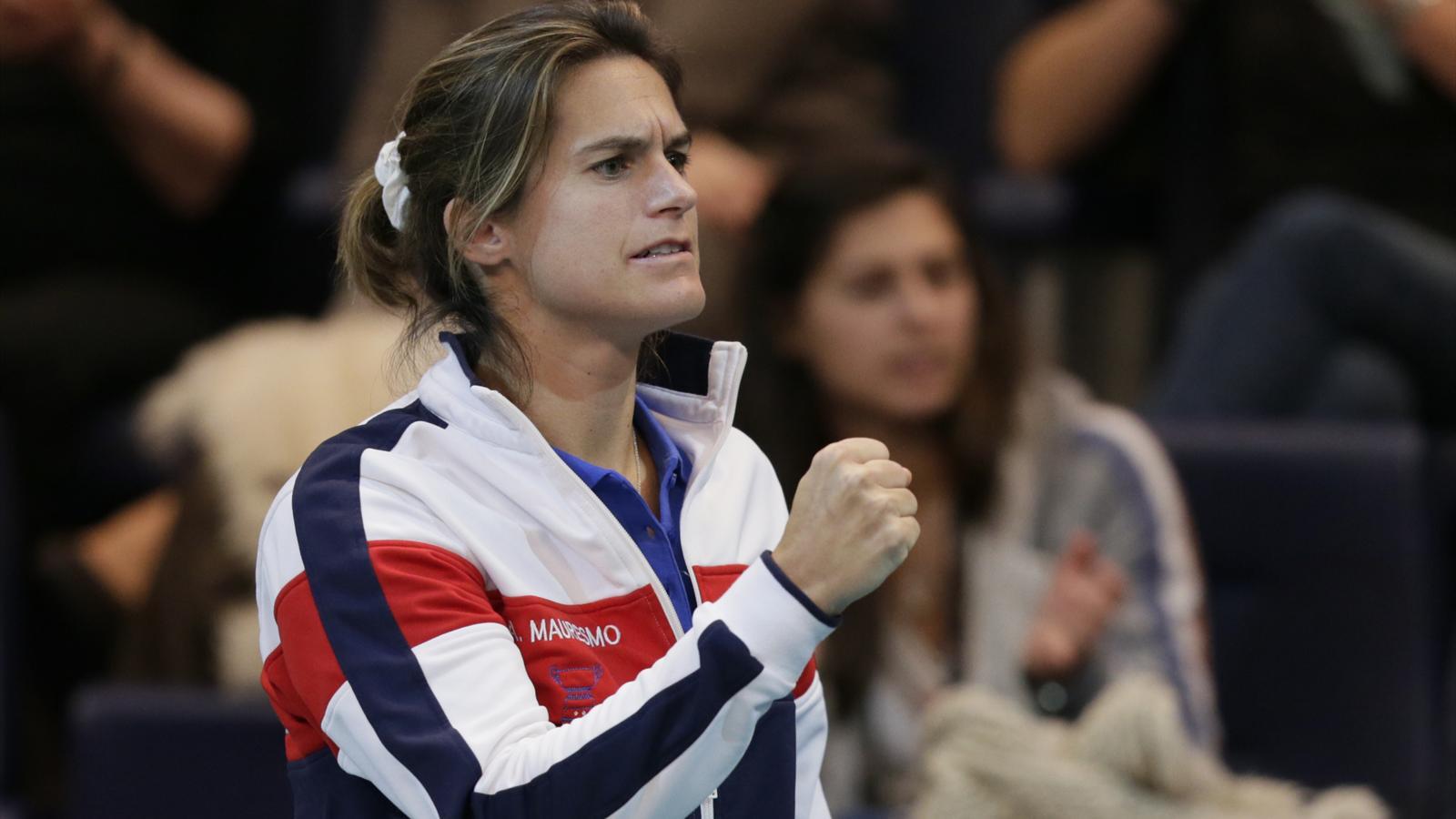 Amélie Mauresmo, capitaine de l'équipe de France ? Pour Michael Llodra « Il faut un homme pour ça »