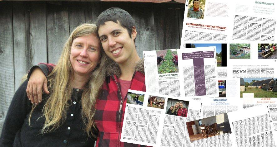 Des communautés de femmes aux écovillages, quand les lesbiennes vivent autrement