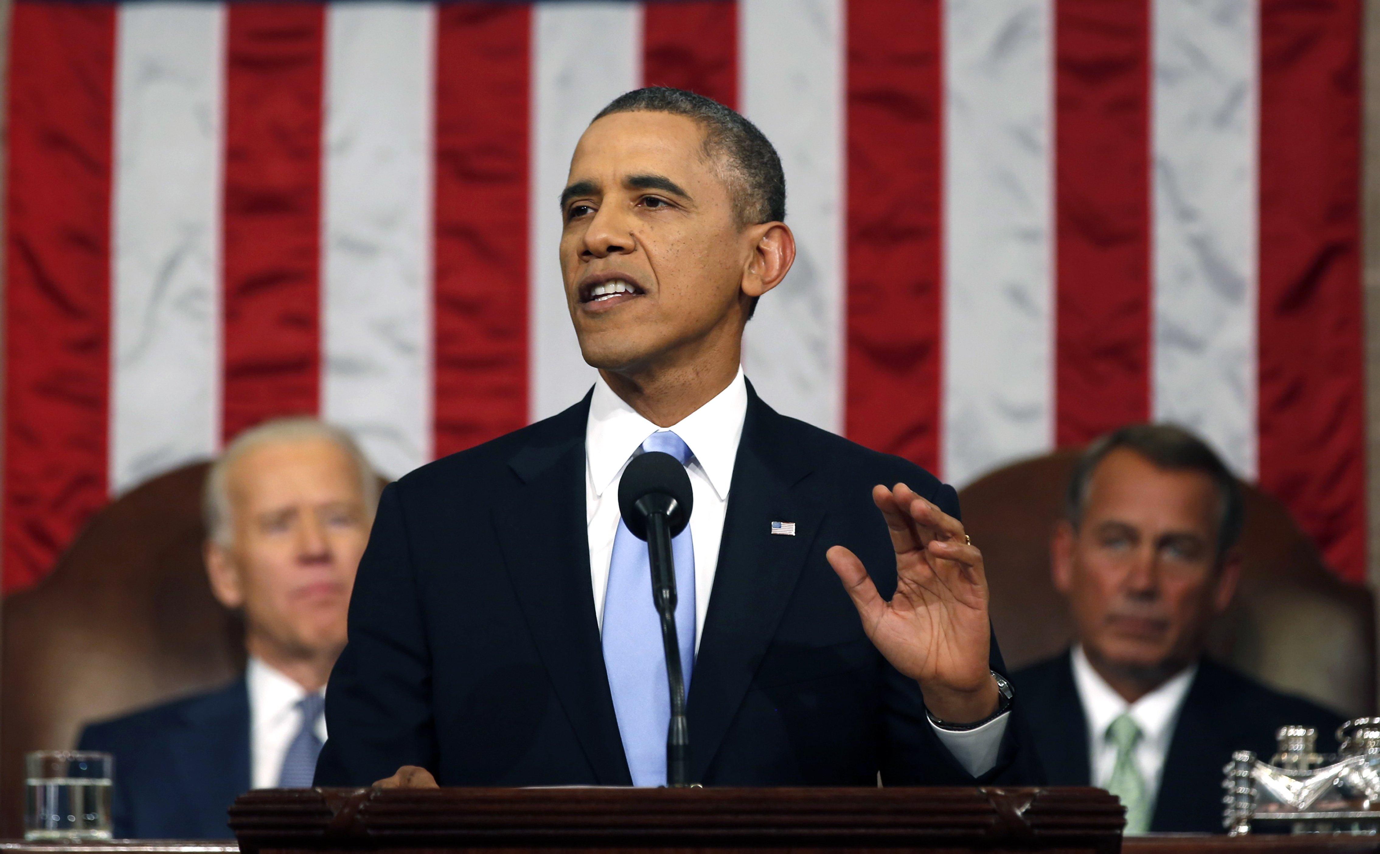Barack Obama entre dans l'Histoire en prononçant pour la 1ère fois les mots lesbiennes, bisexuelles et transgenres dans le discours sur l'état de l'Union