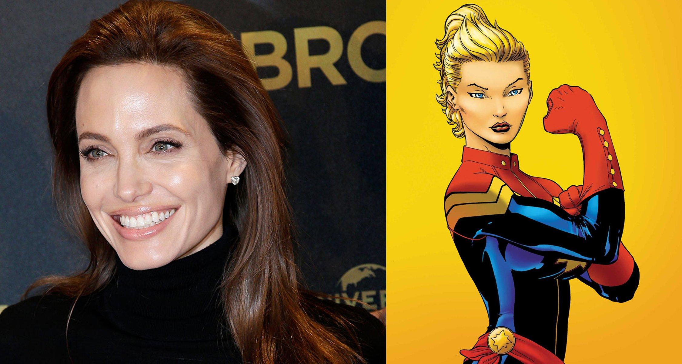 Angelina Jolie réalisatrice de Captain Marvel ?