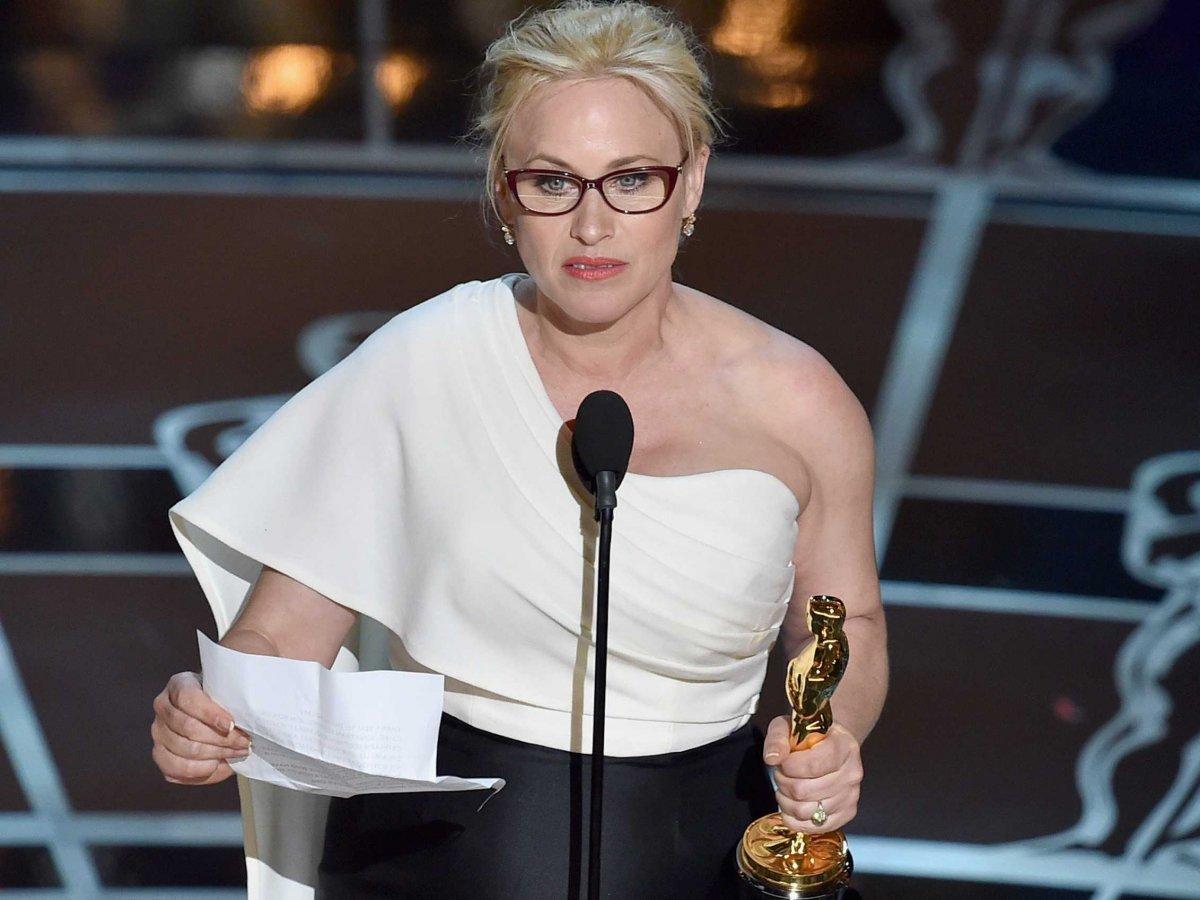 L'appel féministe de Patricia Arquette aux Oscars