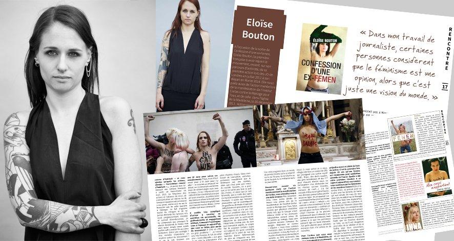 Rencontre avec Eloïse Bouton pour «Confession d'une ex-Femen»
