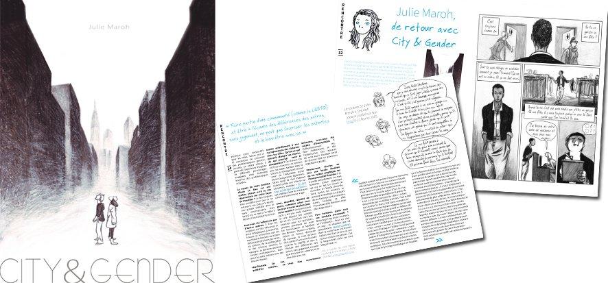 Julie Maroh dans Jeanne Magazine