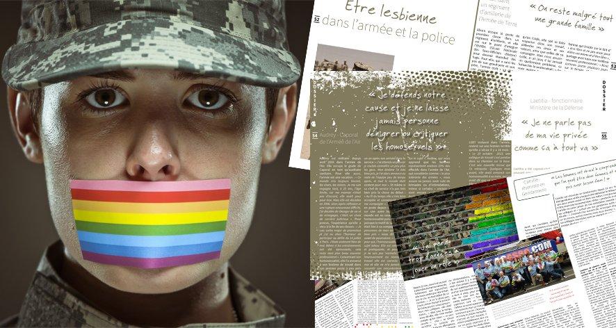 Être lesbienne dans l'armée et la police