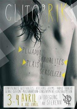 Festival CLITO'RIK ! Plaisir et sexualités : du 3 au 5 avril