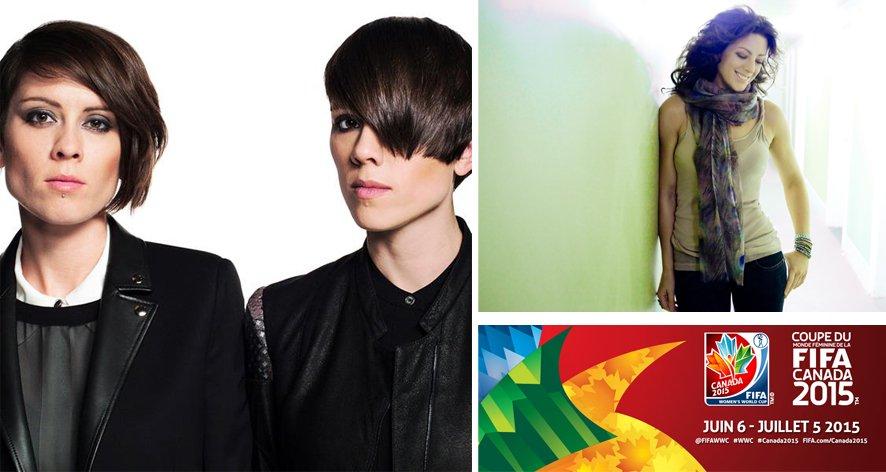 Sarah McLachlan et Tegan et Sara chanteront lors de la cérémonie d'ouverture de la Coupe du monde de football féminin