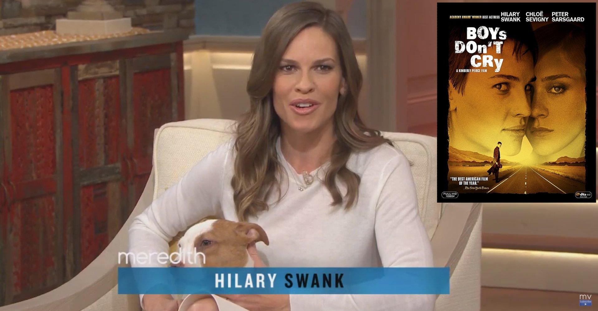 Hilary Swank : « Laissons les gens aimer qui ils veulent »