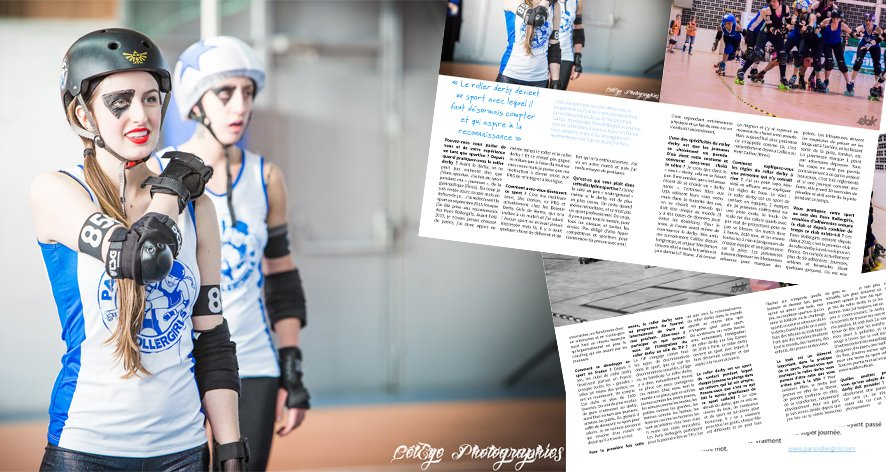 Zoom sur le Paris Rollergirls