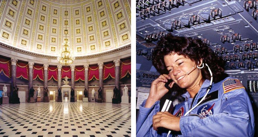 Sally Ride sera la première lesbienne à entrer au National Statuary Hall à Washington DC