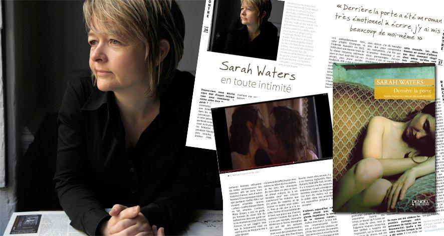 Sarah Waters en toute intimité dans Jeanne Magazine