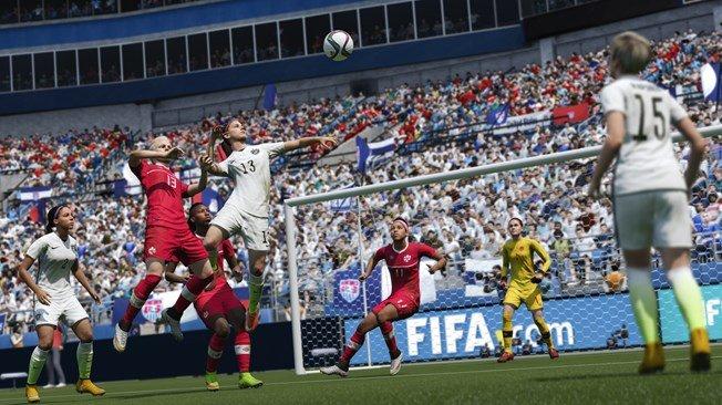 Les joueuses font leur entrée dans FIFA 2016 !