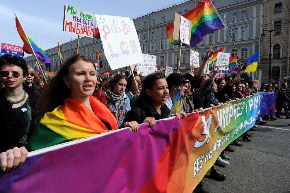600 militants LGBT russes défient la loi anti « propagande gay »