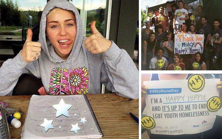 Miley Cyrus lance la Happy Hippie Foundation pour aider les jeunes LGBTI sans domicile fixe