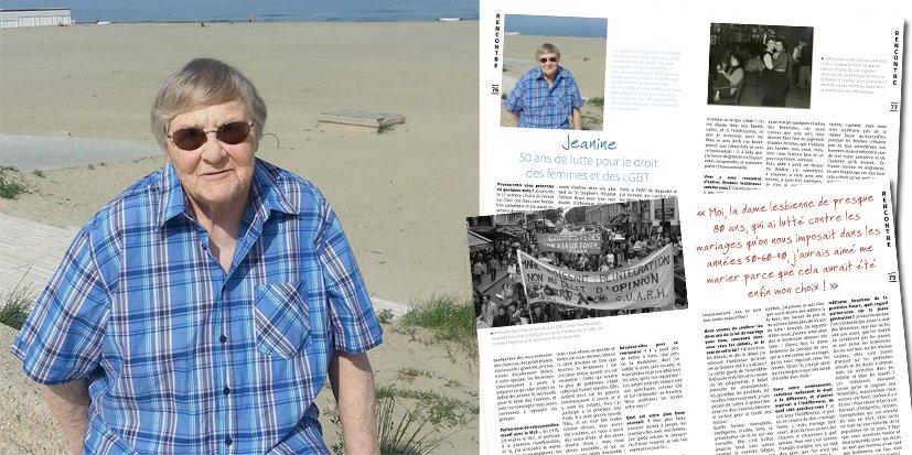 Jeanine raconte ses 50 ans de lutte pour le droit des femmes et des LGBT