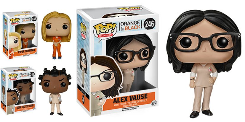 Les héroïnes d'Orange Is The New Black en figurines !