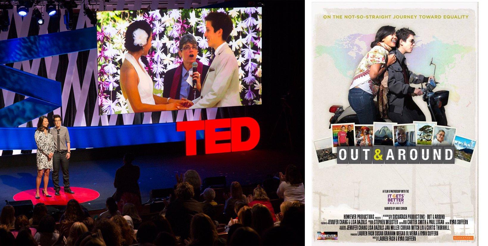 Jenni et Lisa «Nous voulions nous servir de ce voyage pour consolider la communauté LGBT en partageant notre expérience»