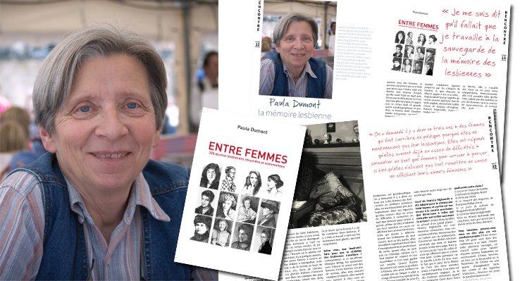 Paula Dumont, la mémoire lesbienne