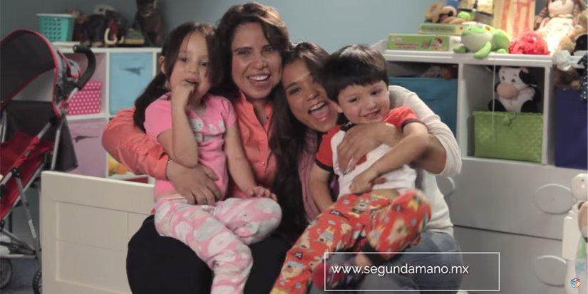 Une première au Mexique : une famille homoparentale dans une publicité à la télé