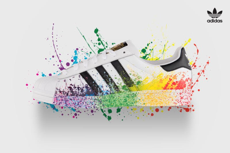 adidas superstar multicolor prezzo
