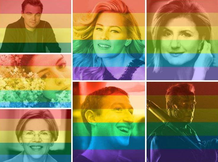 Le chiffre du jour : 26 millions de photos de profil aux couleurs de l'arc-en-ciel sur Facebook