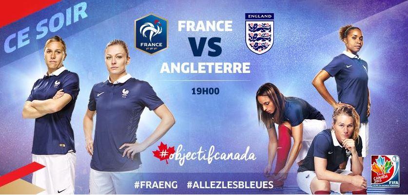 Coupe du monde de football féminin : toutes derrière les Bleues !