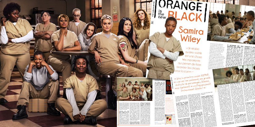 OITNB : Samira Wiley en interview dans Jeanne Magazine