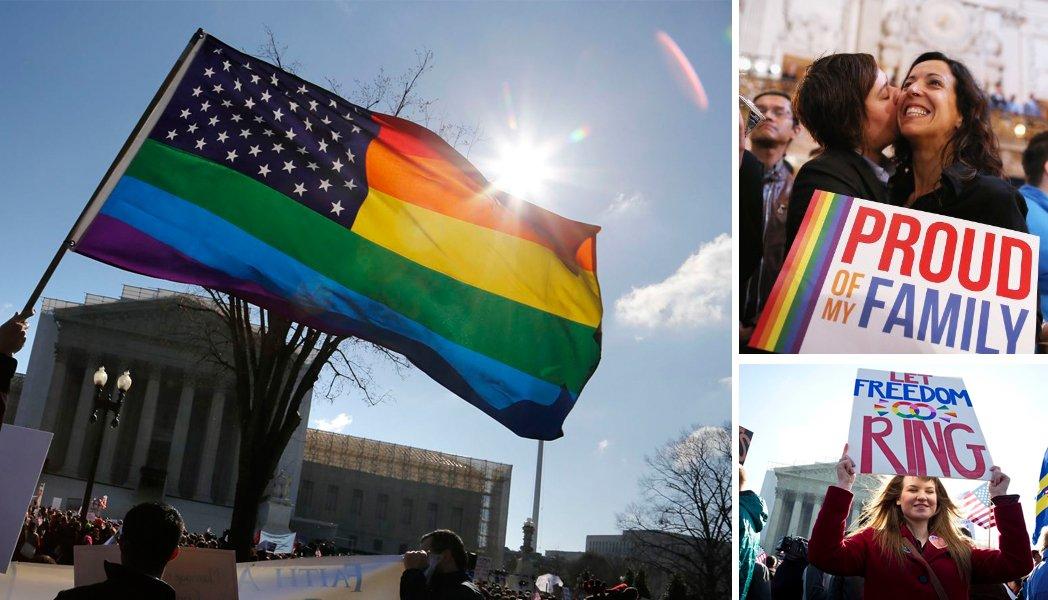 Etats-Unis : Les couples homosexuels peuvent se marier dans tout le pays !