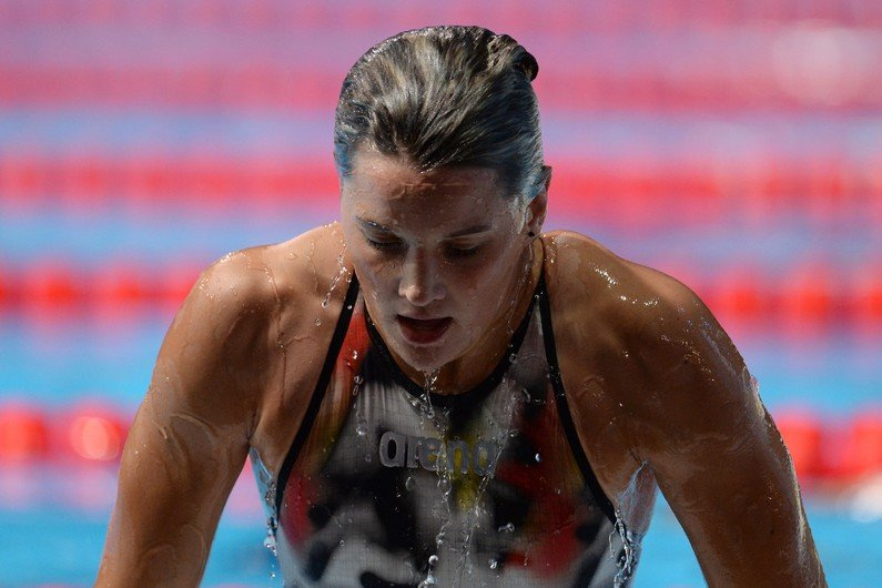 Mélanie Hénique, nageuse de l'équipe de France, a porté plainte vendredi pour agression homophobe