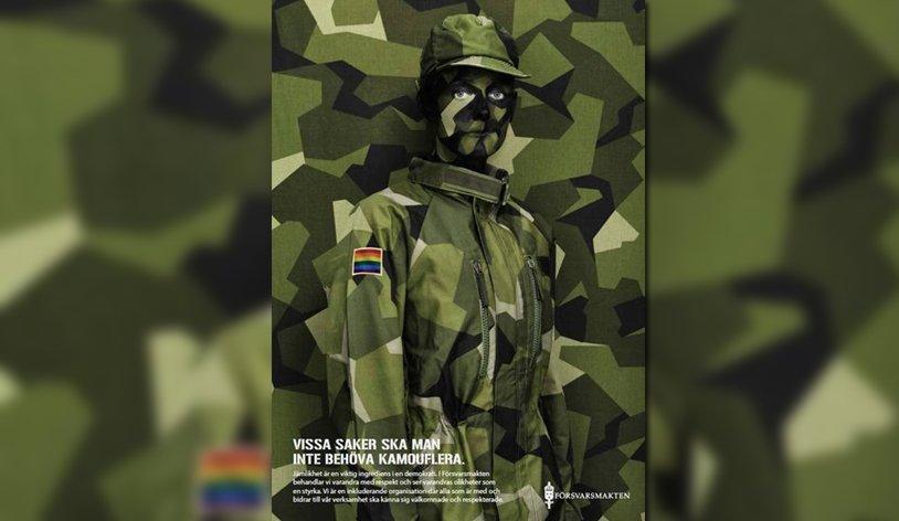 « Ces choses que vous ne devriez pas avoir à dissimuler », la nouvelle campagne pro-égalité du Ministère de la Défense suédois