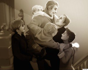 """""""It's A Wonderful Life"""" (""""La Vie est Belle"""") (1946) - Frank Capra"""