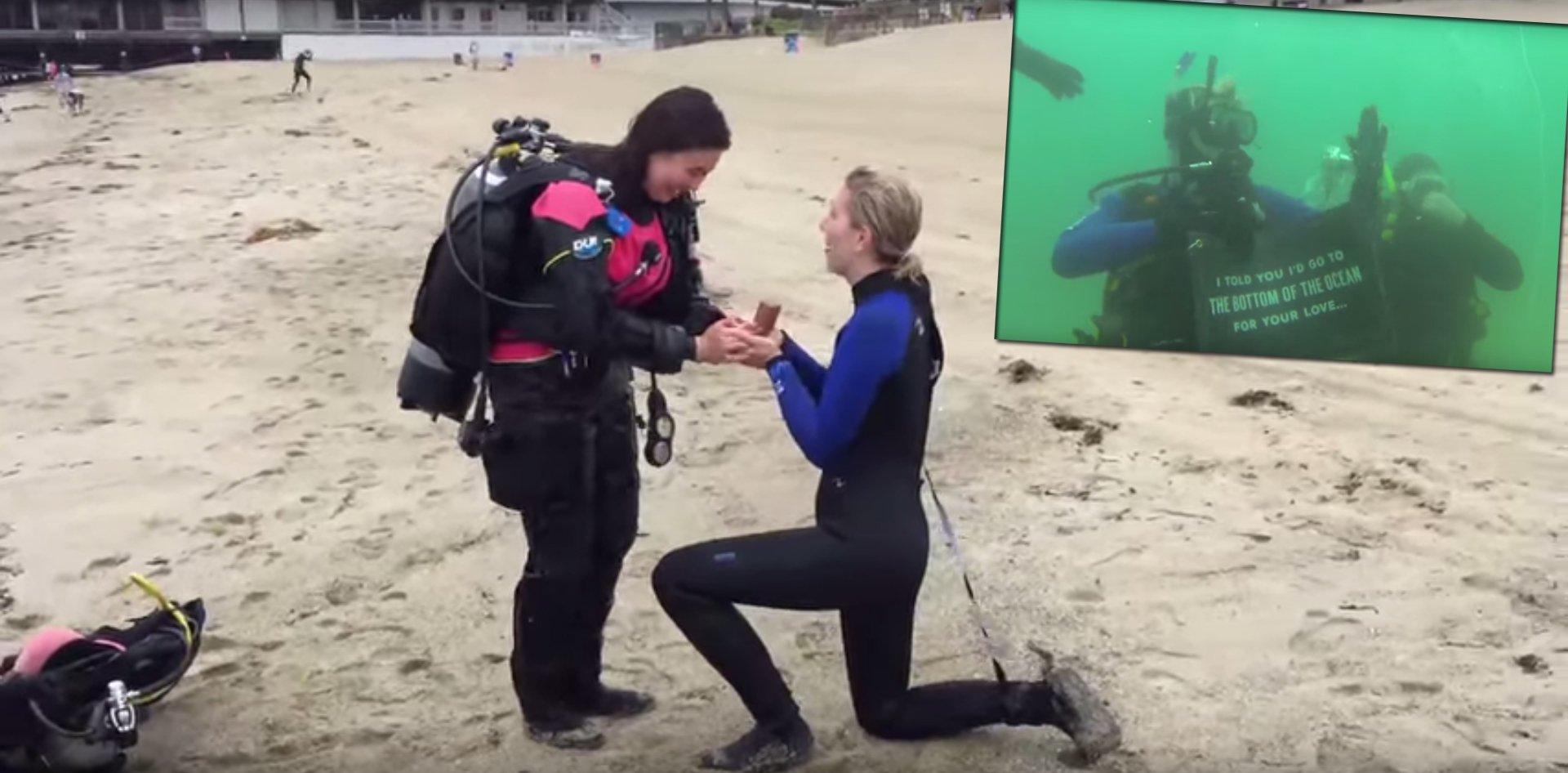 «  Je t'avais dit que j'irais au fond de la mer par amour pour toi  »