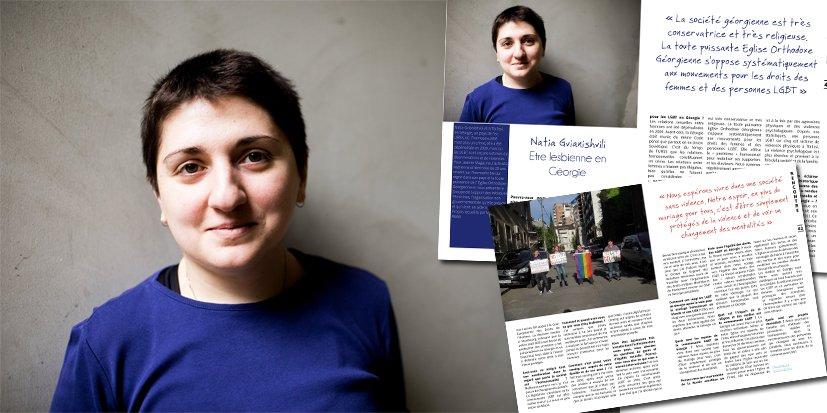 Etre lesbienne en Géorgie : rencontre avec Natia Gvianishvili