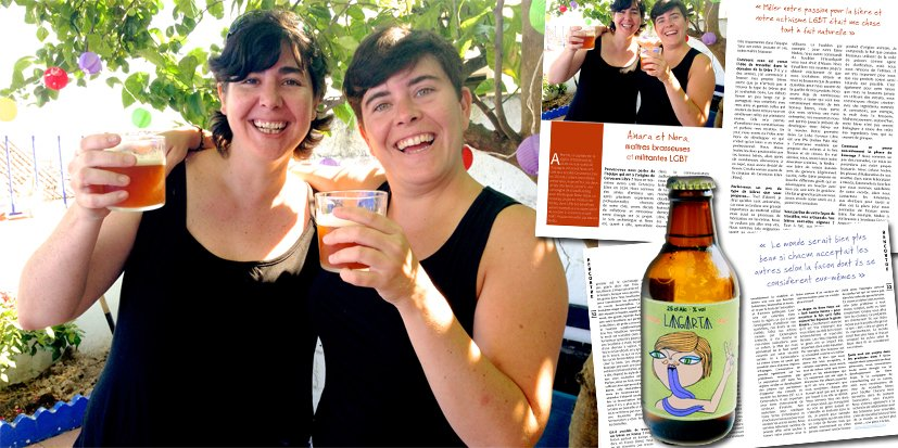 Ainara et Nora, maîtres brasseuses et militantes LGBT