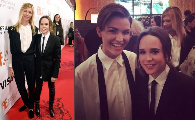 Ellen Page officialise sa relation avec Samantha Thomas