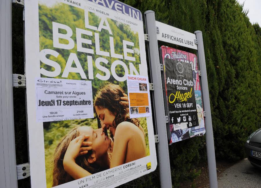 L'affiche de La Belle Saison censurée à la mairie FN de Camaret-Sur-Aigues !